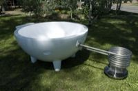 chemical free, electricity free hot tubs.