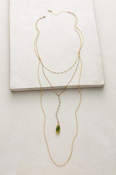 Viridis Layer Necklace - anthropologie.com