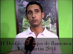 Información de Francisco Gil Solano sobre el II Desfile de trajes de flamenca de la Agrupación parroquial, celebrado el 22 de agosto de 2014.