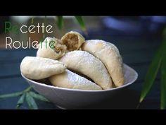 Cornes de gazelle - Recette de cuisine Marmiton : une recette Gourmet Recipes, Cooking Recipes, Healthy Recipes, Banh Bao Recipe, Bakers Yeast, Algerian Recipes, Stuffing Recipes, World Recipes, Italian Recipes