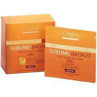 L'Oréal - Sublime Bronze Self-Tanning Towelettes in  #ultabeauty