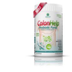 ColonHelp Probiotic Forte este o versiune de ColonHelp in care, pe langa fibrele din semintele de in si psyllium, au fost adaugate inulina (extrasa din cicoare, cu efect prebiotic) si un complex probiotic in concentratie de 3 miliarde de colonii