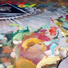 AASB II, Acrylics on canvas, 170 x 150 cm