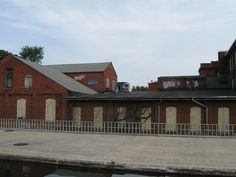 Abandoned Frederick MD building