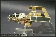 G-1A band Bossk modified and repainted for X-wing miniature game by Darth Grumpy