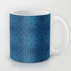 Knit Reflection Mug by Katie... from society6.com on Wanelo