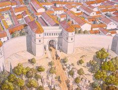 Gaule - Arelate (Arles) - Halage chalan - Porte d'Auguste