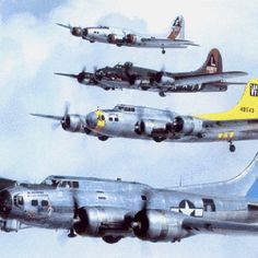 B-17 Fs and Gs