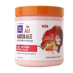 Dark and Lovely Au Naturale Curl Defining Creme Glaze - 14 oz.