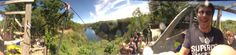 tom's 360º panoramic Bubble, World's Longest Death Slide, taken with a BubbleScope
