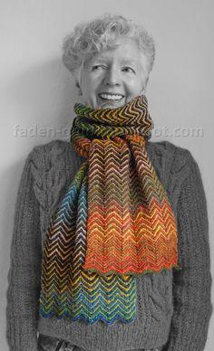 Zick Zack Schal http://www.ravelry.com/patterns/library/zickzack-scarf