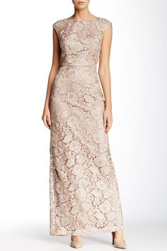 Sue Wong | Full Length Lace Gown | Nordstrom Rack  Sponsored by Nordstrom Rack.