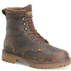 CA8588 Carolina Men's Waterproof Ins Safety Boots - Brown www.bootbay.com