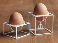Eggcups No1 and No2 SET 3d printed Accessories Home decor Add a caption...