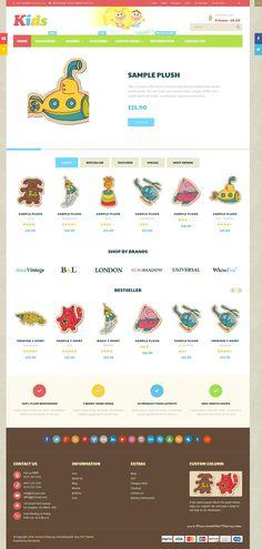 Korona  Multipurpose Responsive WooCommerce Theme Perfect for: #Kids, Babies…