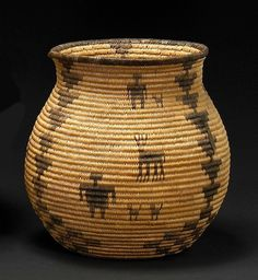 baskets of native americans | ... 13 sale will feature a 9-inch tall Apache basket, est. $1,800-2,400
