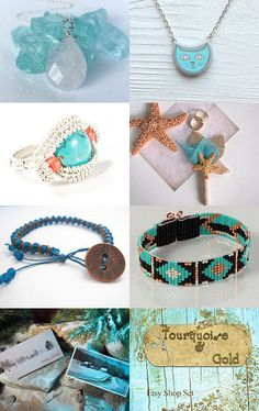 Turquoise Luv by Noël on Etsy--Pinned with TreasuryPin.com