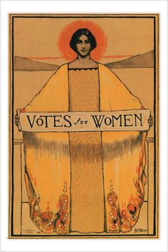 VOTES FOR WOMEN vintage political poster B. BOYE 1913 USA rare HOT Brand New. Will ship in a tube. Reproduction of aged original vintage art print. Great wall decor art print at Room Posters, Poster Wall, Poster Prints, Poster Poster, Wall Art Posters, Fine Art Posters, Poster Ideas, Movie Posters, Political Posters