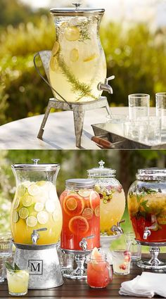 PB Classic Large Outdoor Drink Dispenser - Holds over two gallons!