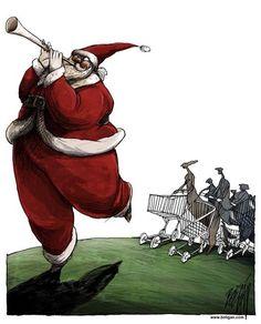 Natal do Consumismo - Consumo desenfreado