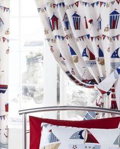Tesco direct: Nautical Curtains 54s