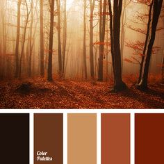 A lovely restrained palette paints, personifying the ground. Brown symbolizes reliability, stability and security. It is a great color for creating a home-. Bedroom Colour Schemes Warm, Rust Color Schemes, Warm Bedroom Colors, Family Room Colors, Apartment Color Schemes, Pantone, Wal Art, Boutique Deco, Monochrome Color