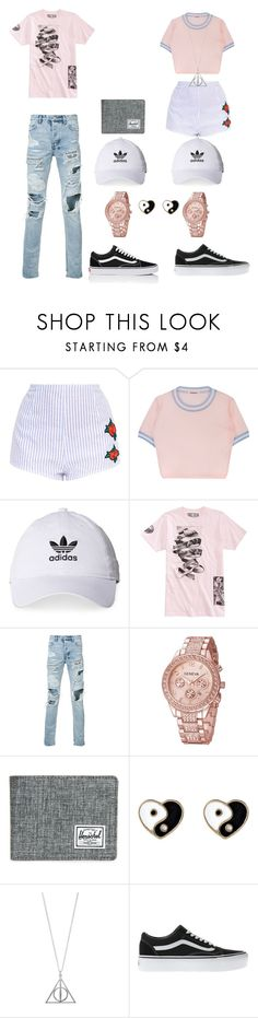 """Date Night"" by kingrealeza23 on Polyvore featuring adidas, Ksubi, Herschel Supply Co., Accessorize and Vans"