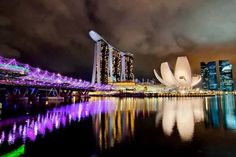 Marina Bay Sands #Hotel, Singapore !!