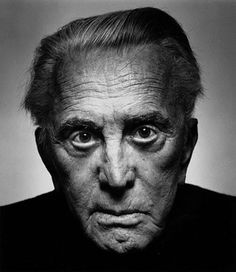 Kirk Douglas (born as Issur Danielovitch, - American film and stage actor, film producer and author. Photo by Platon