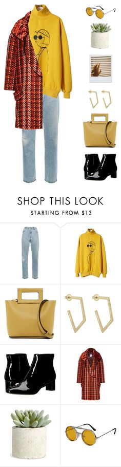 """#PolyPresents: Wish List"" by fcris7176 ❤ liked on Polyvore featuring RE/DONE, WithChic, French Connection, Calvin Klein, Stella Jean, Allstate Floral, Spitfire, contestentry and polyPresents"