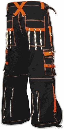 "Tripp NYC ""Kryptonic"" Pants (Black / Orange)"