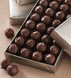 #FMChocolates Milk Chocolate Covered Cherries in platinum wrap $24.99