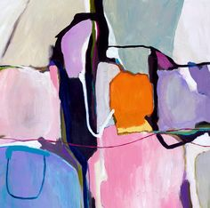 Large abstract painting large abstract wall print gift for