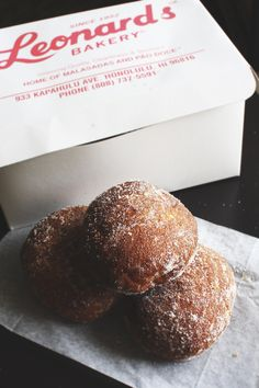 When we finally make it over to Hawaii... we're eating malasadas from Leonard's. Must not forget this.
