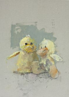 pickle_and_boo. - nathan ford paintings