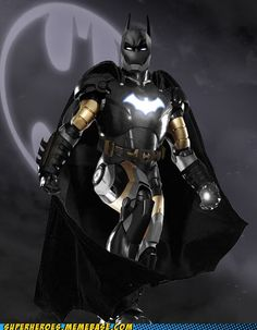 superheroes batman superman - Iron Bat