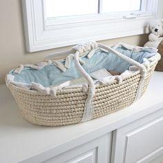 Beach Baby Moses Basket @PoshTots