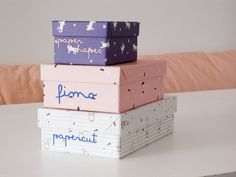 Recycled boxes