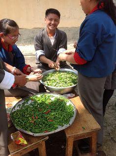 Yankee in Bhutan: Food in Bhutan #1