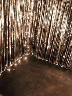 have a dance party! Job-rocker, an awesome playlist, and either chirstmas lights or a disco ball Photo Booth Backdrop, Photo Booths, Photo Booth Wall, Diy Backdrop, Photo Wall, Sparkle Party, Nouvel An, New Years Eve Party, Party Time