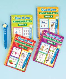 Quiz It! 4 Activity Books and Electronic Pen Set