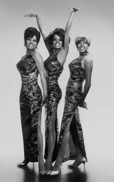 Influential African American Fashion Icons - the Supremes