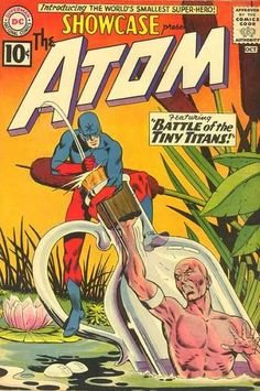 SHOWCASE 34 THE ATOM SILVER AGE DC COMICS