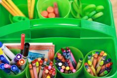 Group supplies: tables earn supplies (like markers, colored pencils, and glitter pens) by making good choices and taking care of their supplies.