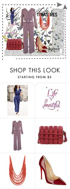 """""""Romwe 6"""" by dinka1-749 ❤ liked on Polyvore featuring Christian Louboutin"""