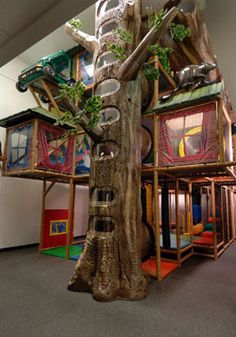 Douglas Fir Indoor Playground