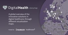 Digital Health Storymap: an innovative project by Healthware International Digital Citizenship, Health And Wellbeing, Understanding Yourself, Innovation, Health Care, Medicine, Anna, Medical, Medical Technology