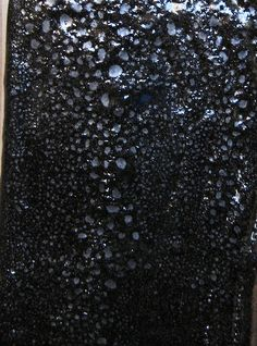 Candace Black Oil Spot ^6 by alisaclausen, : Firing: Oxidation Surface: Oil Spot   Amount Ingredient 65 Feldspar--NC 4 20 Silica 5 Whiting 5 Kaolin--EPK 5 Dolomite 5 Frit--Ferro 3110   105 Total   ADD 8 RIO 2 Cobalt Carb.