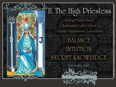 Get in-depth meanings for The High Priestess card! Upright & reversed Tarot Card Meanings included for a more detailed Tarot Reading.