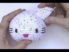 Häkeln * Hello Kitty Engel mit Herz * Teil 3 * Arme, Beine * Amigurumi